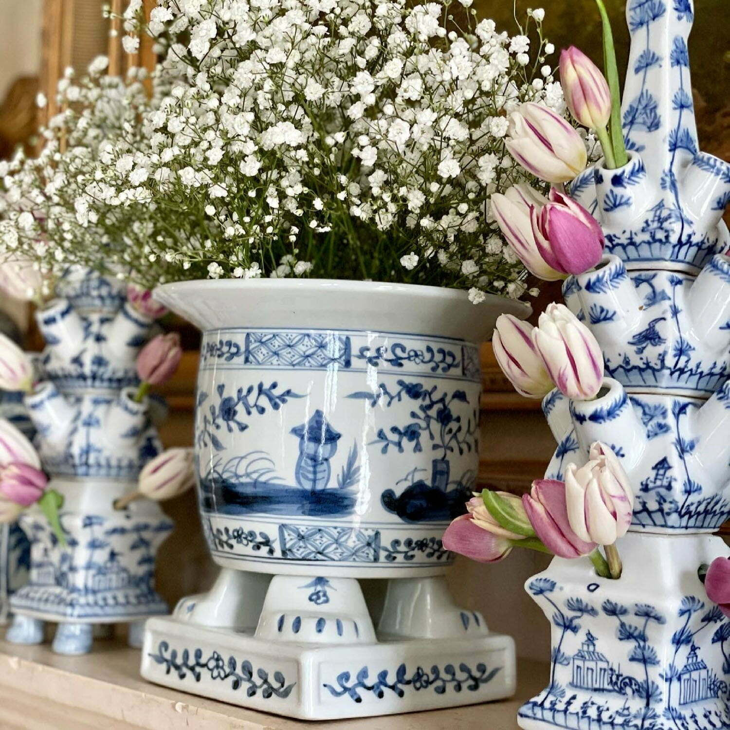 Blue and White Jars