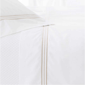 Trio White Sheet Set
