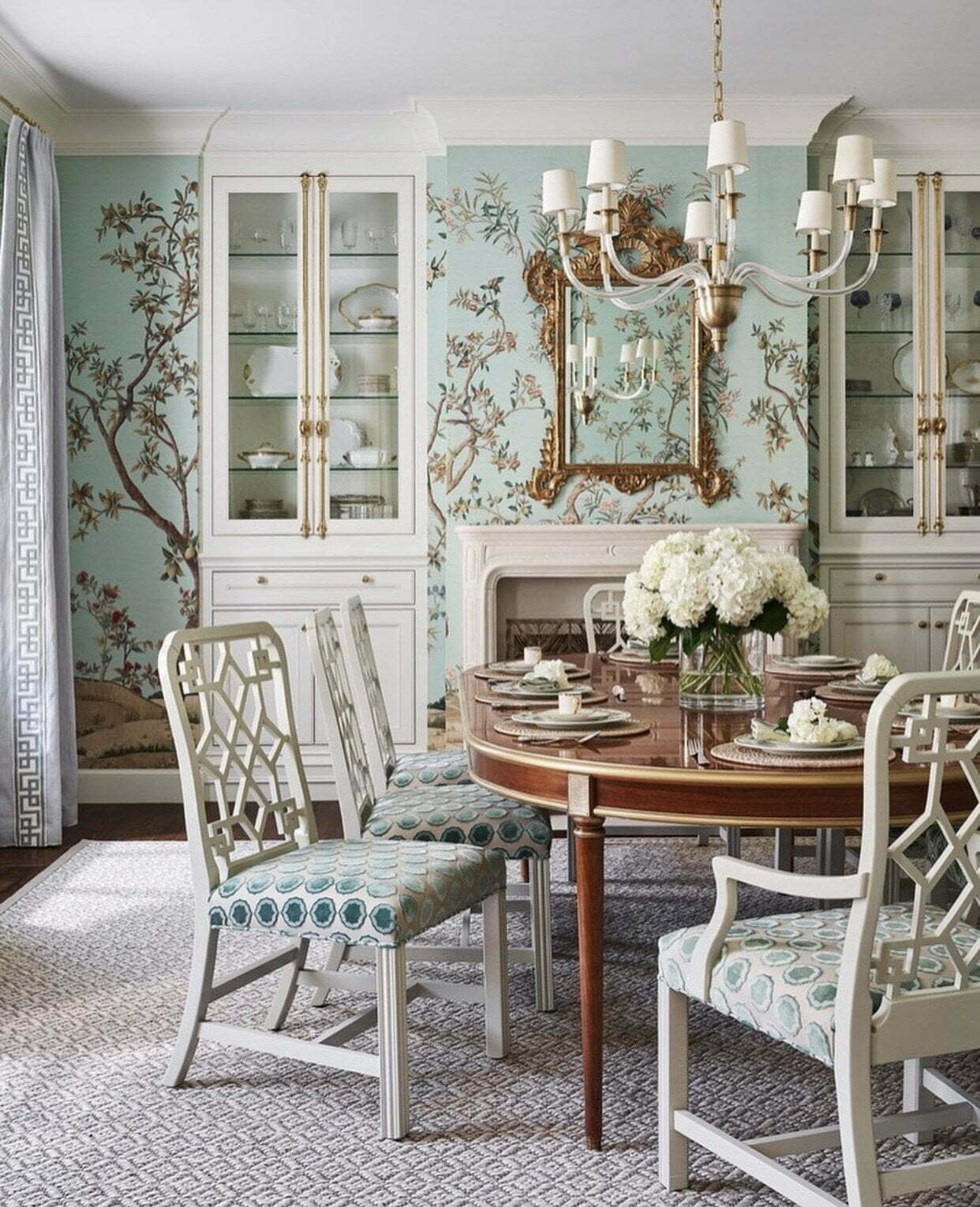 Chinoiserie Chic Dining Room