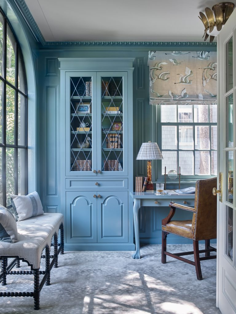 House Tour- Jessica Bradley renovates a Frank Neely home in Brookhaven