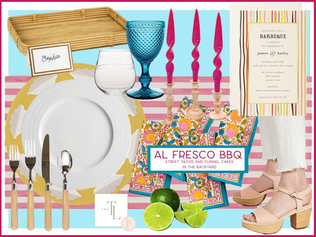 Outdoor Entertaining Tips and Ideas from Jane Allen