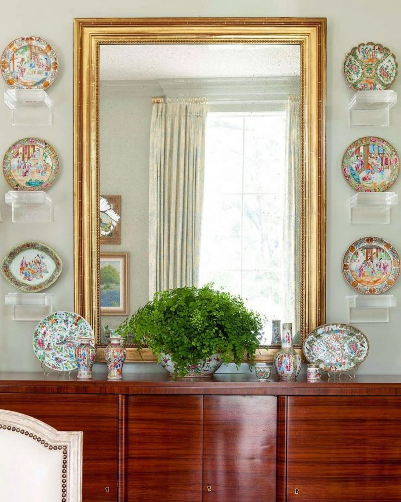 plate walls, rose medallion, chinese export