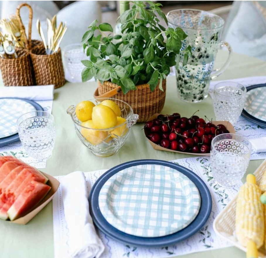 Lucy Grymes Paper Placemats Easy Party Ideas