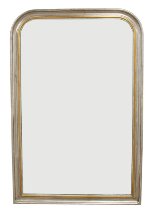 Mirror, Silver and Gold Mirror, Mintwood Home, Home Decor