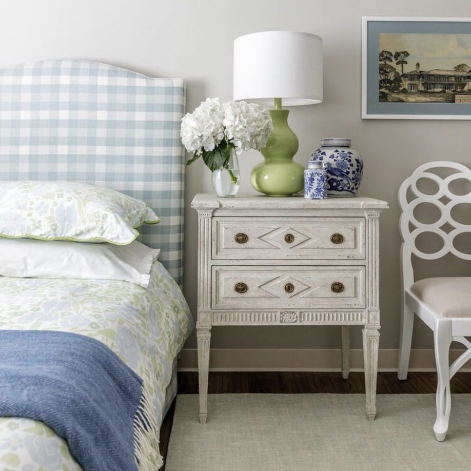 Blue and White Bedroom, Kerry Spears, Bedroom Decor
